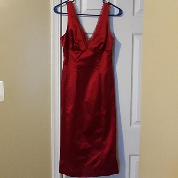bebe Dresses & Skirts - Red Bebe Cocktail Dress